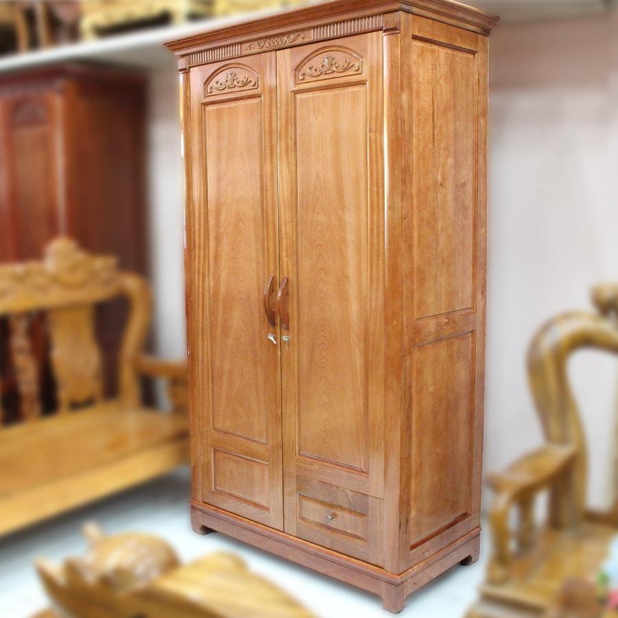 tủ gỗ giá rẻ Tủ Quần Áo Gỗ Xoan Đào Giá Rẻ Cho Mọi Nhà tủ gỗ giá rẻ