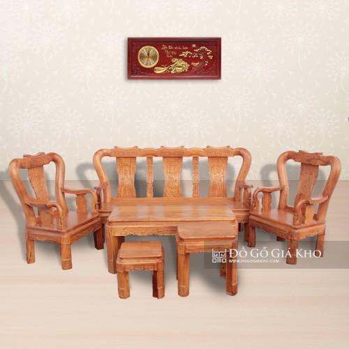 bàn ghế gỗ Gõ tay 10 kiểu cổ điển