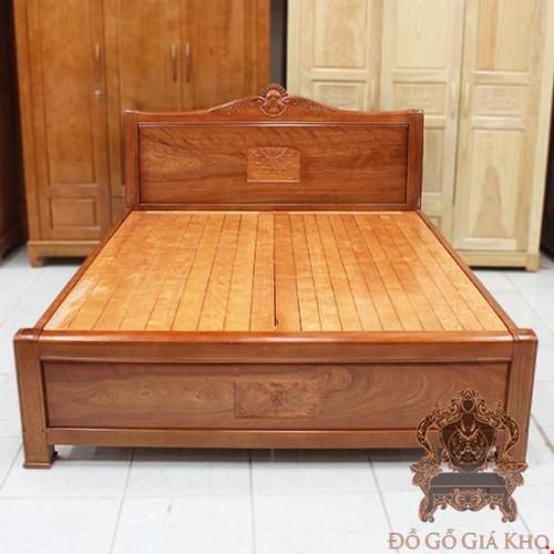 Giường Gỗ Xoan Đào Nữ Hoàng  | Đồ Gỗ Giá Kho