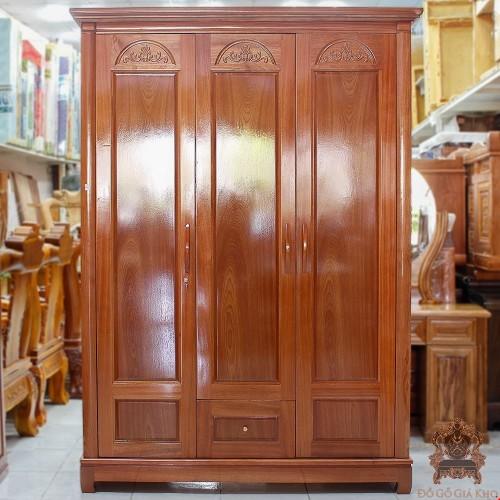 Tủ quần áo gỗ đẹp | Tủ quần áo gỗ Xoan Đào giá rẻ